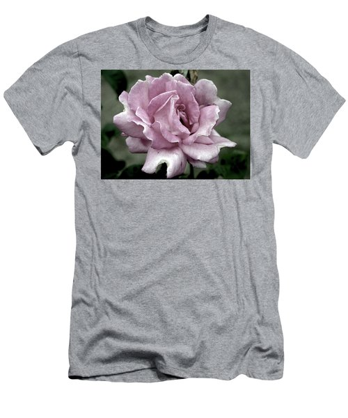 Faded Beauty Rose 0226 H_2 Men's T-Shirt (Athletic Fit)