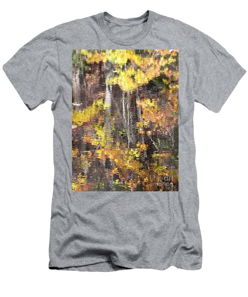 Fading Fall Water Men's T-Shirt (Slim Fit) by Melissa Stoudt