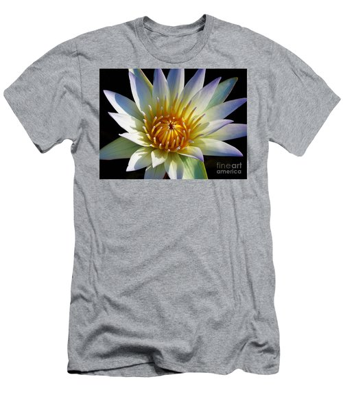 Men's T-Shirt (Slim Fit) featuring the photograph Fairest Lily by Chad and Stacey Hall