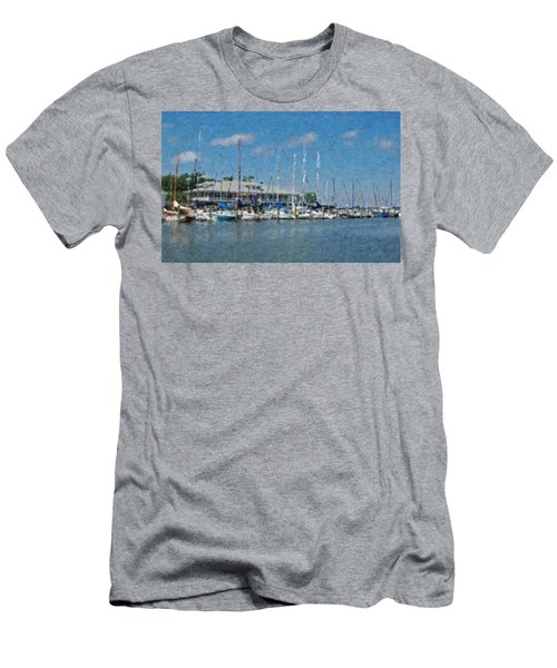 Fairhope Yacht Club Impression Men's T-Shirt (Athletic Fit)
