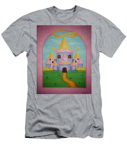 Fairytale Castle Men's T-Shirt (Athletic Fit)