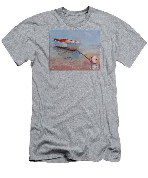 Faithful Dinghy Men's T-Shirt (Slim Fit) by Trina Teele