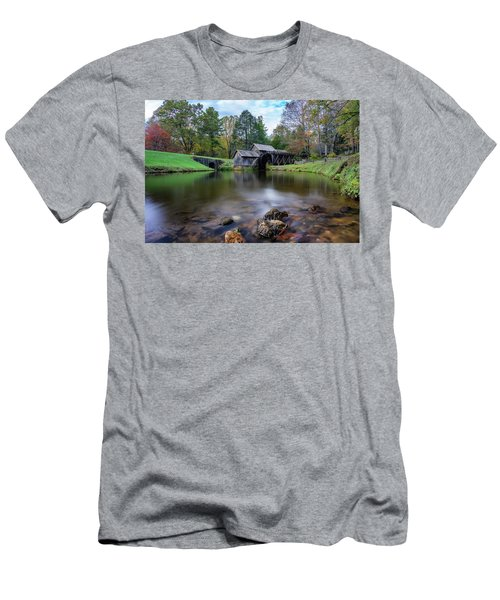 Fall At Mabry Mill Men's T-Shirt (Athletic Fit)