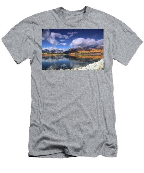 Fall At Twin Lakes Men's T-Shirt (Athletic Fit)