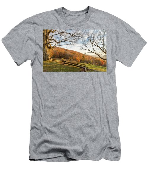Fall Colors At The Moses Cone Estate Men's T-Shirt (Athletic Fit)