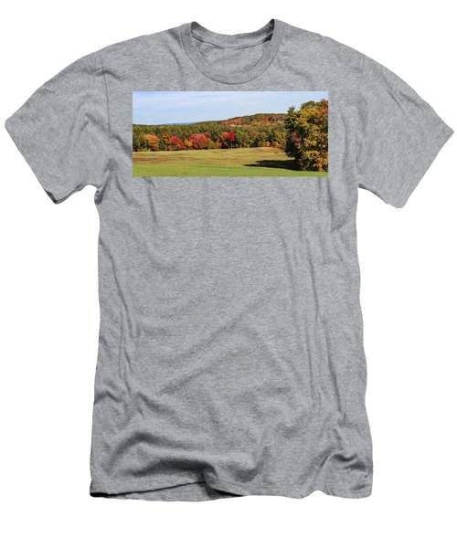 Fall Colors In Easthampton Men's T-Shirt (Athletic Fit)
