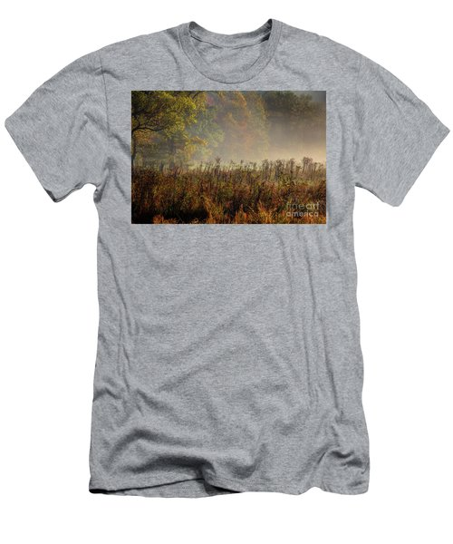 Men's T-Shirt (Slim Fit) featuring the photograph Fall In Cades Cove by Douglas Stucky