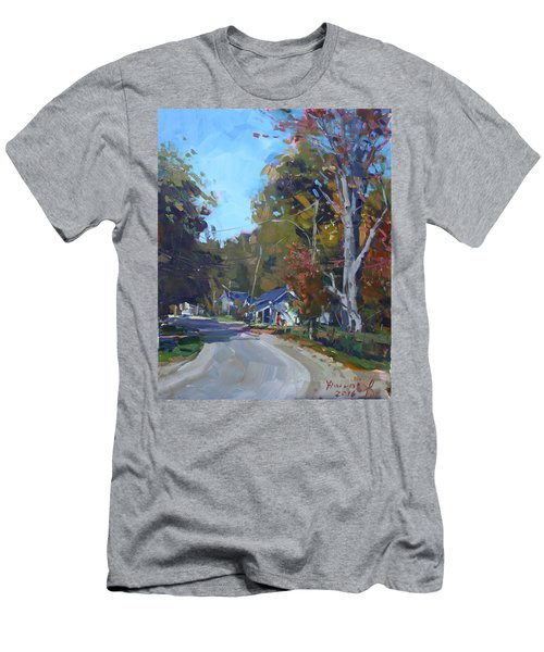 Fall In Glen Williams On Men's T-Shirt (Athletic Fit)