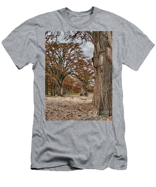 Fall In Texas  Men's T-Shirt (Athletic Fit)