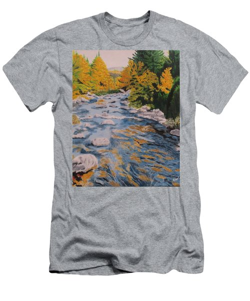 Fall Is Coming Men's T-Shirt (Slim Fit) by Hilda and Jose Garrancho