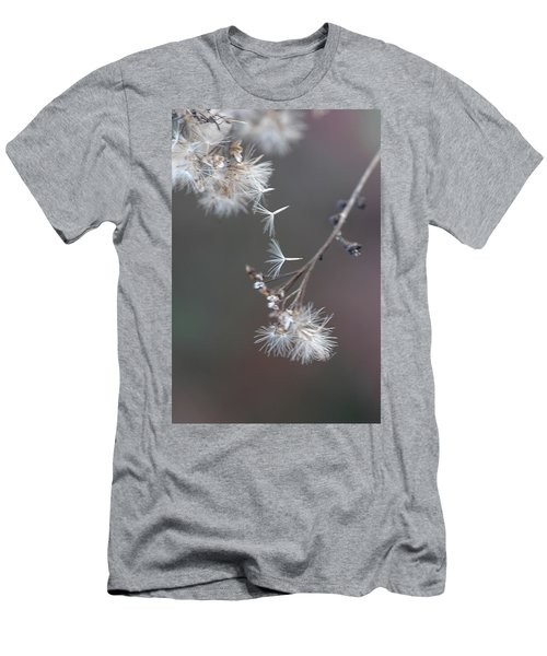Men's T-Shirt (Slim Fit) featuring the photograph Fall - Macro by Jeff Burgess