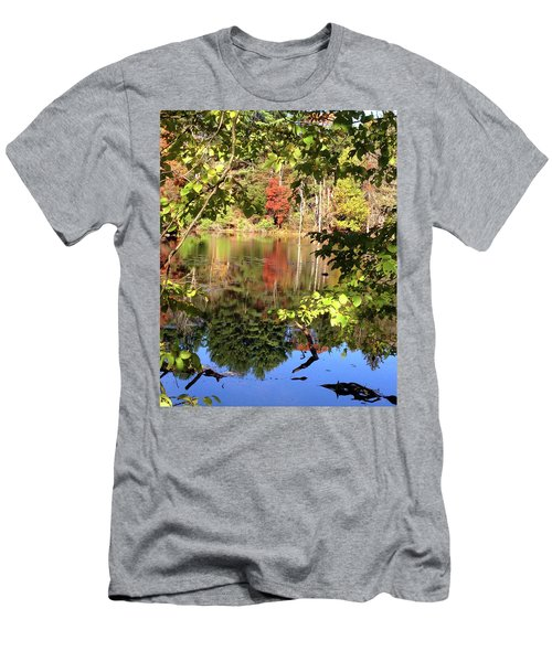 Fall Reflections Men's T-Shirt (Athletic Fit)