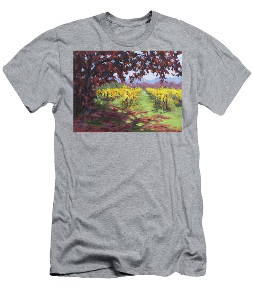 Fall Vineyard Men's T-Shirt (Athletic Fit)
