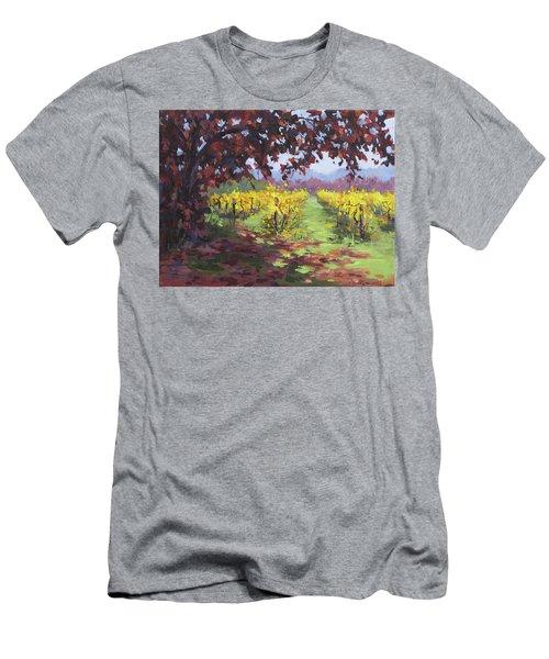 Fall Vineyard Men's T-Shirt (Athletic Fit)