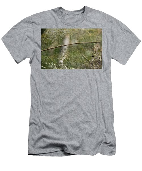 Men's T-Shirt (Athletic Fit) featuring the photograph fallen Leaf by Debbie Cundy
