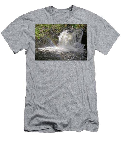 Falloch Rainbow Men's T-Shirt (Athletic Fit)