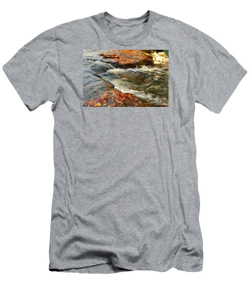 Falls Park Sunset Waterfall Men's T-Shirt (Athletic Fit)