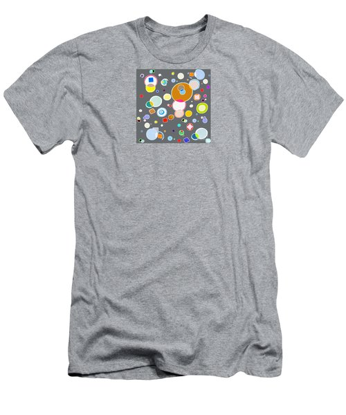 Family Men's T-Shirt (Slim Fit) by Beth Saffer