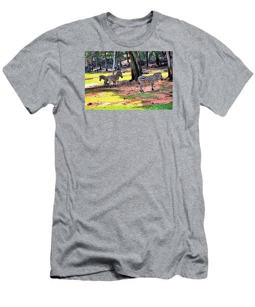 Family Of Four Men's T-Shirt (Slim Fit) by James Potts