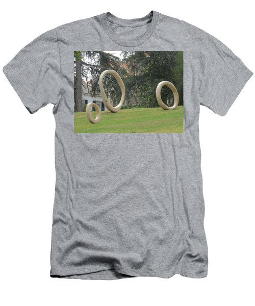 Men's T-Shirt (Athletic Fit) featuring the photograph Family Of O's by Aaron Martens