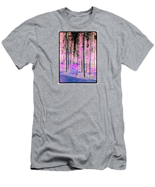 Fantasy Forest Men's T-Shirt (Slim Fit) by Linda Bianic