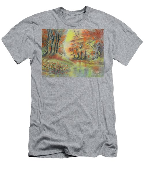 Fantasy Landscape Men's T-Shirt (Athletic Fit)