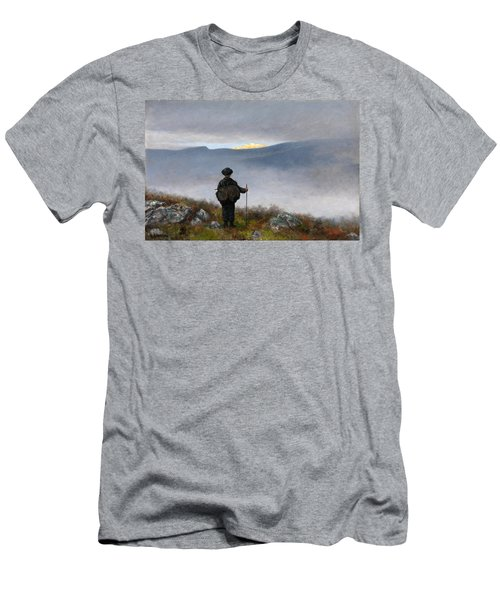 Far Far Away Soria Moria Palace Shimmered Like Gold Men's T-Shirt (Athletic Fit)