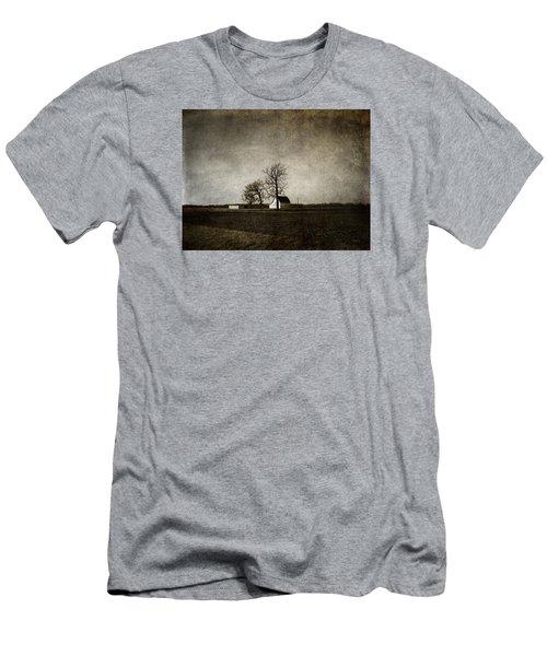 Farm Men's T-Shirt (Slim Fit) by Cynthia Lassiter