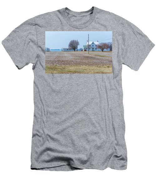 Farm On The Bay Men's T-Shirt (Athletic Fit)