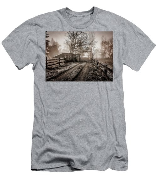 Farm Road Late Autumnl. Men's T-Shirt (Athletic Fit)