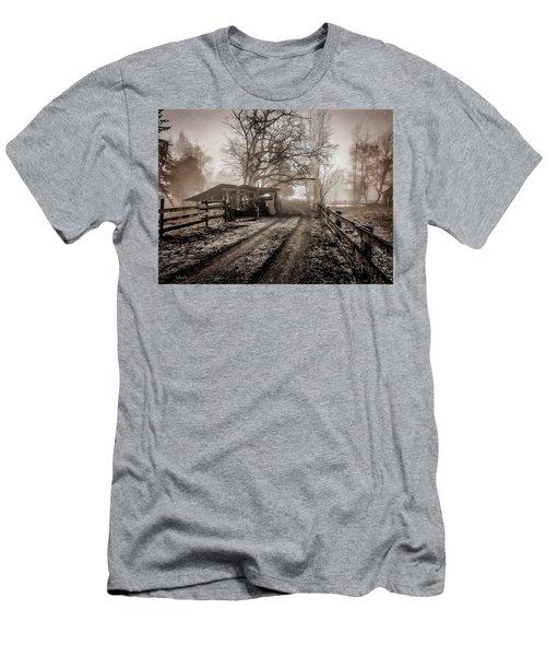 Farm Road Late Autumnl. Men's T-Shirt (Athletic Fit)