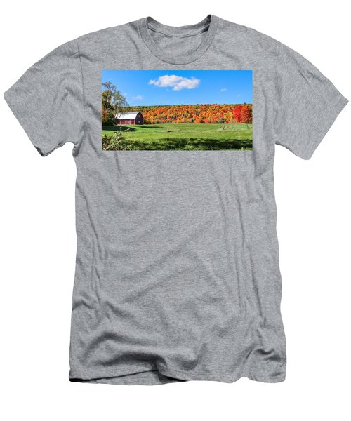 Farm View From Russellville Road Men's T-Shirt (Athletic Fit)