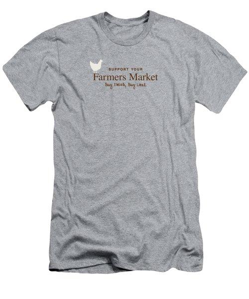 Farmers Market Men's T-Shirt (Athletic Fit)