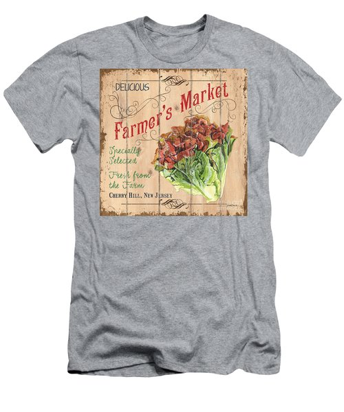 Farmer's Market Sign Men's T-Shirt (Athletic Fit)
