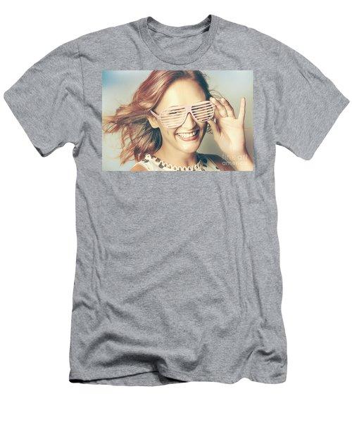 Fashion Eyewear Pin-up Men's T-Shirt (Athletic Fit)