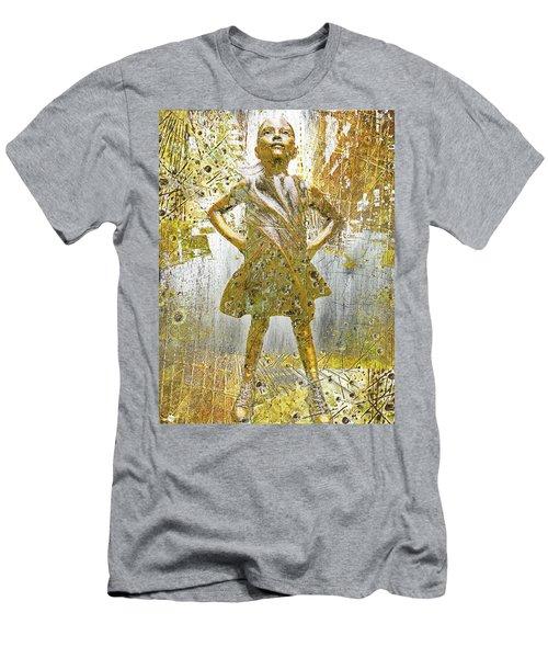 Fearless Girl By Kristen Visbal Men's T-Shirt (Athletic Fit)