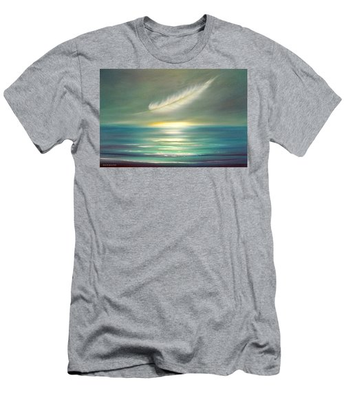 Feather At Sunset Men's T-Shirt (Athletic Fit)