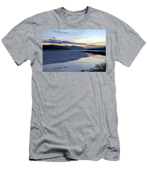 February At Dusk 5 Men's T-Shirt (Slim Fit) by Victor K