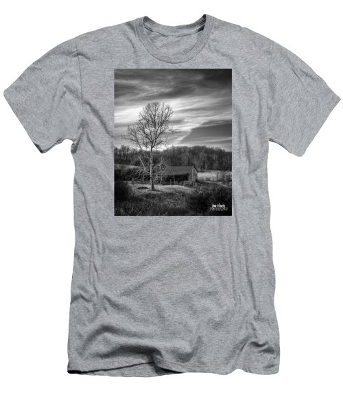 February Sky Men's T-Shirt (Athletic Fit)