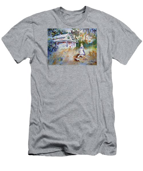Feeding Time Men's T-Shirt (Slim Fit) by Mary Haley-Rocks