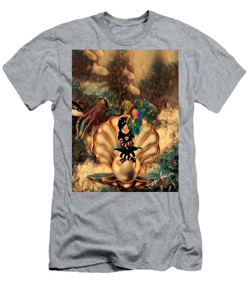 Feeling It All Men's T-Shirt (Slim Fit) by Vennie Kocsis