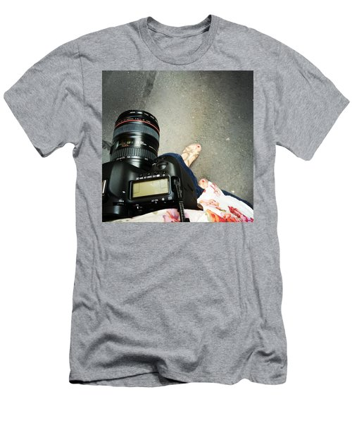 Feet Around The World #24 Men's T-Shirt (Athletic Fit)