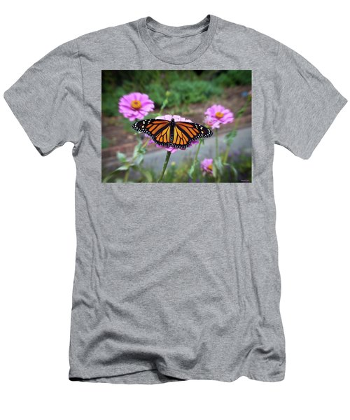 Female Monarch  Men's T-Shirt (Athletic Fit)