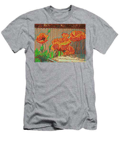 Fence Art Men's T-Shirt (Athletic Fit)