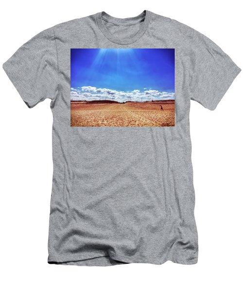 Fenwick Island State Park Men's T-Shirt (Athletic Fit)