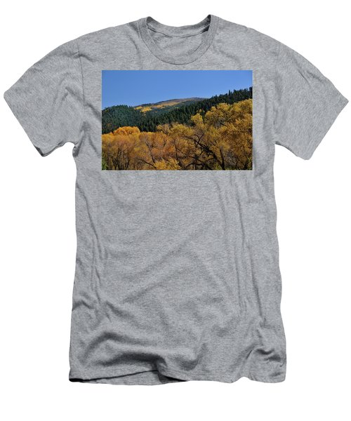 Men's T-Shirt (Athletic Fit) featuring the photograph Fernando Peak by Ron Cline