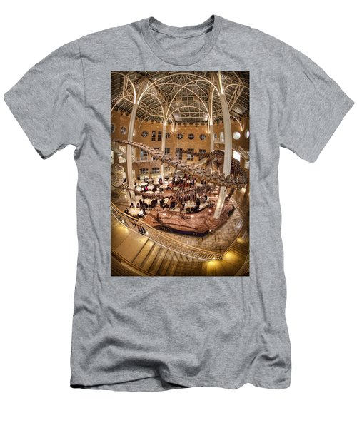 Men's T-Shirt (Slim Fit) featuring the photograph Fernbank Museum by Anna Rumiantseva