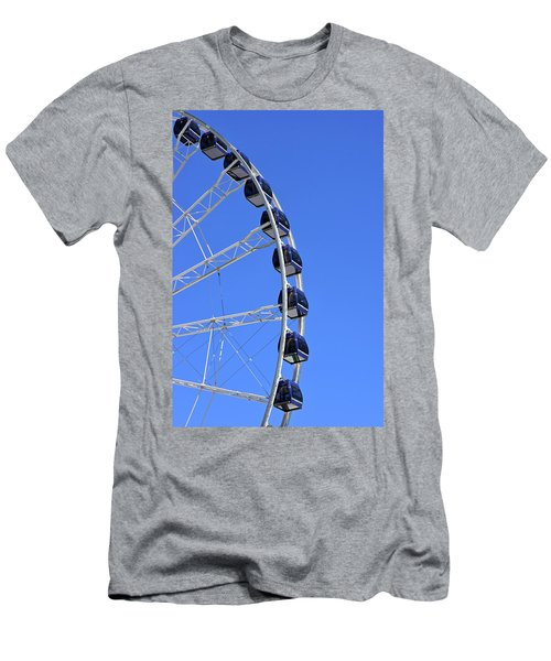 Ferris Wheel At Navy Pier, Chicago No. 1 Men's T-Shirt (Athletic Fit)