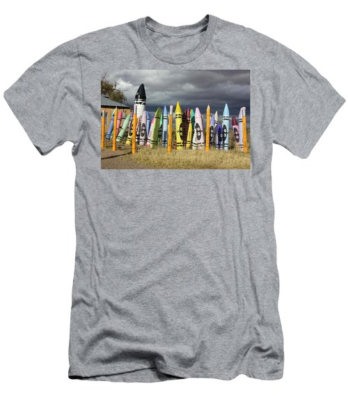Festival Of The Crayons Men's T-Shirt (Athletic Fit)