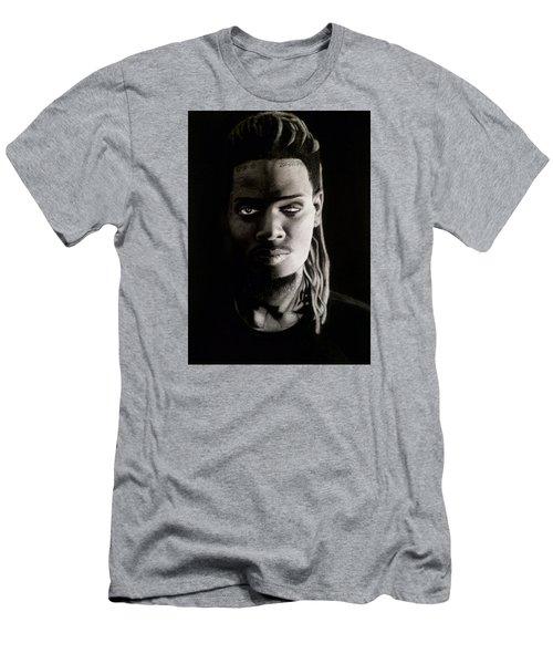 Fetty Wap Drawing Men's T-Shirt (Slim Fit) by Angelee Borrero